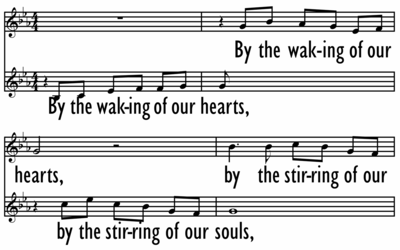 BY THE WAKING OF OUR HEARTS-ppt