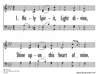 HOLY SPIRIT, LIGHT DIVINE-ppt