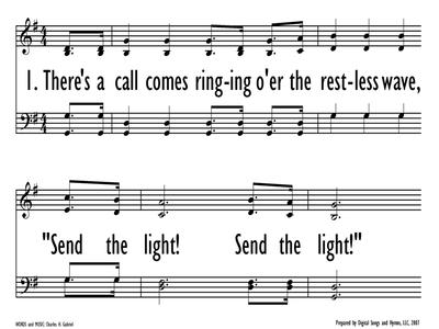 SEND THE LIGHT-ppt