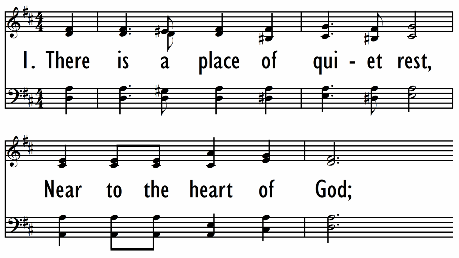NEAR TO THE HEART OF GOD-ppt
