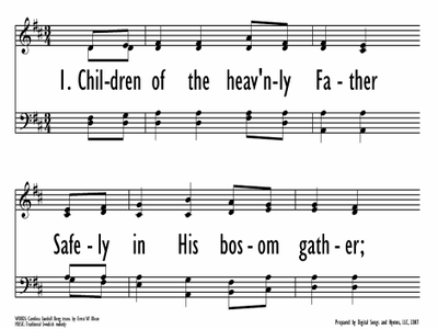 CHILDREN OF THE HEAVENLY FATHER-ppt