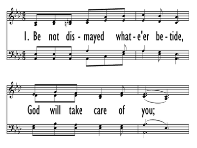 GOD WILL TAKE CARE OF YOU-ppt