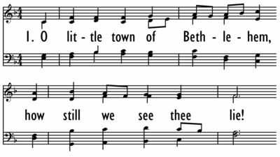 O LITTLE TOWN OF BETHLEHEM-ppt