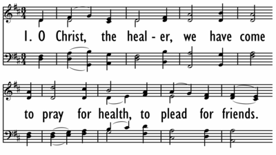 O CHRIST, THE HEALER-ppt