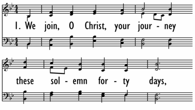 WE JOIN, O CHRIST, YOUR JOURNEY-ppt