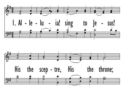 ALLELUIA! SING TO JESUS-ppt