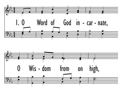 O WORD OF GOD INCARNATE-ppt