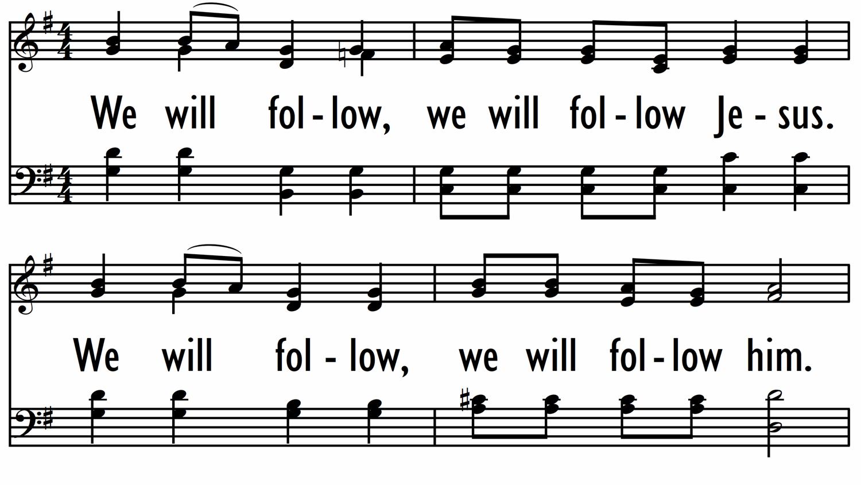 WE WILL FOLLOW / SOMLANDELA-ppt