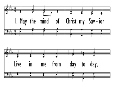 MAY THE MIND OF CHRIST, MY SAVIOR-ppt