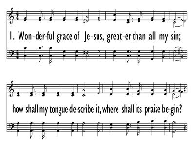 WONDERFUL GRACE OF JESUS-ppt
