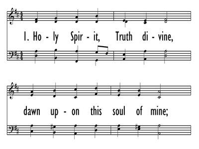 HOLY SPIRIT, TRUTH DIVINE-ppt