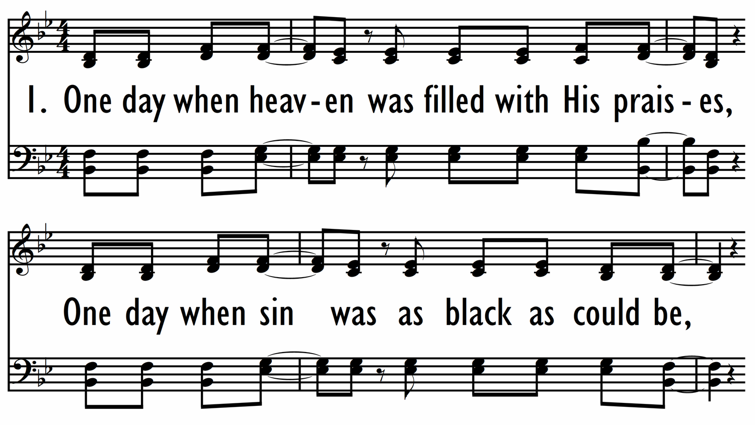 GLORIOUS DAY (Living He Loved Me) - Hymn-ppt
