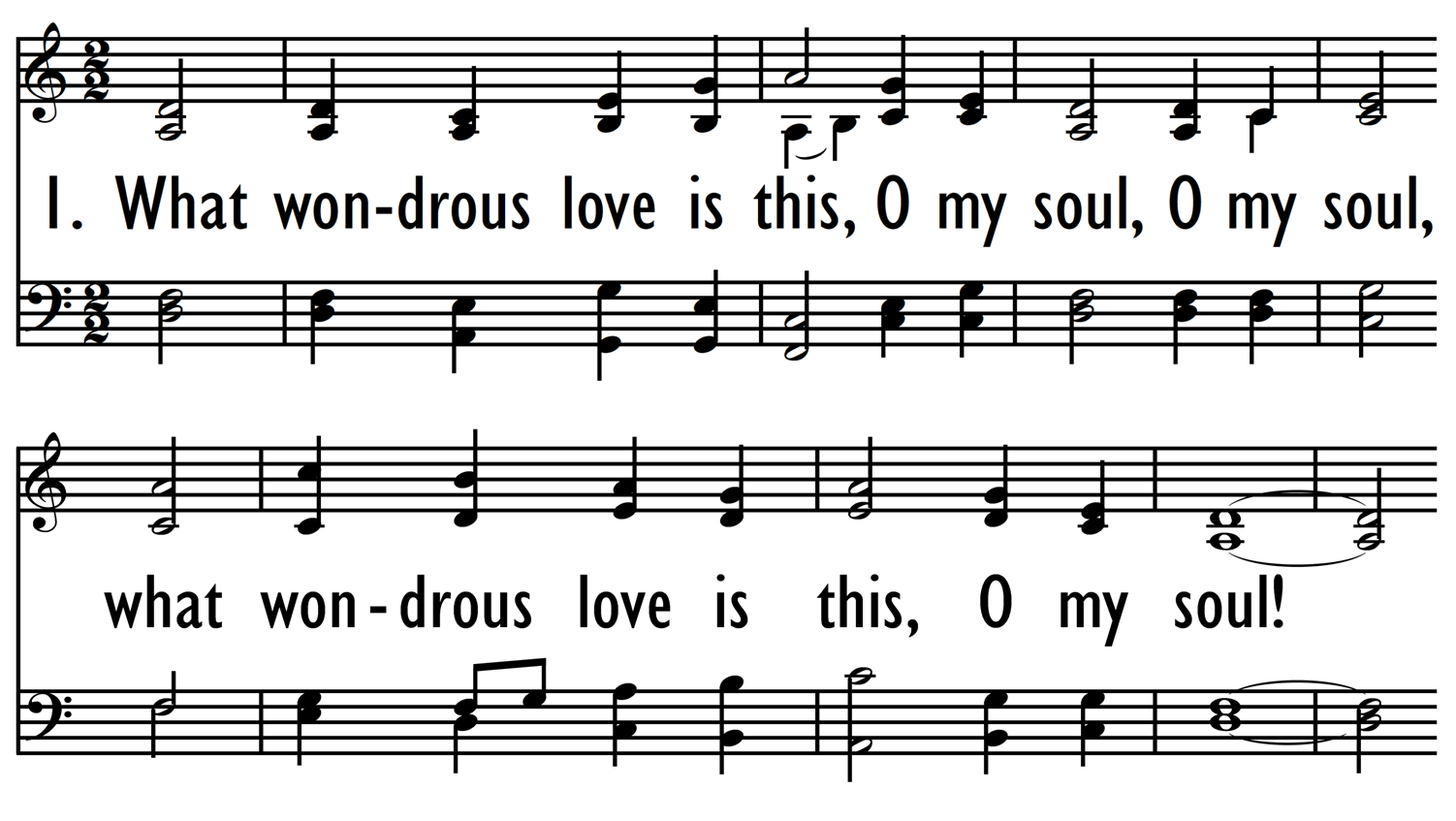 WHAT WONDROUS LOVE IS THIS-ppt