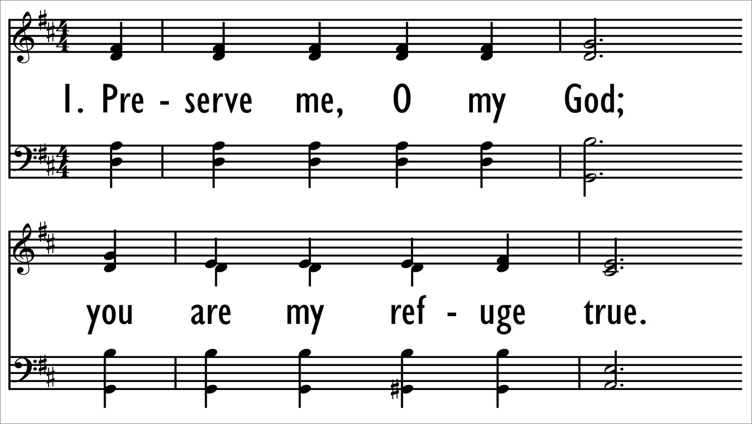 PRESERVE ME, O MY GOD-ppt