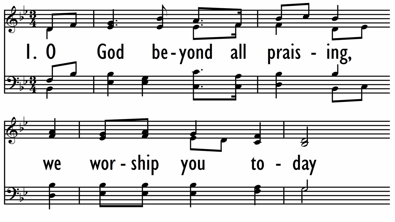 O GOD BEYOND ALL PRAISING-ppt