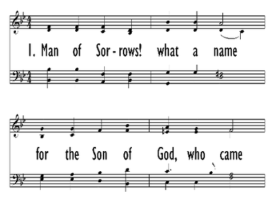 MAN OF SORROWS, WHAT A NAME-ppt