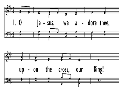 O JESUS WE ADORE THEE-ppt