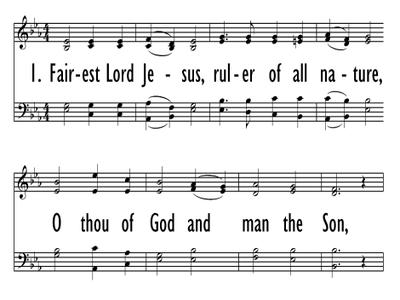FAIREST LORD JESUS-ppt