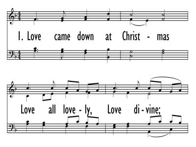 Love Came Down At Christmas.Love Came Down At Christmas