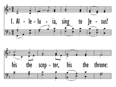 ALLELUIA, SING TO JESUS!-ppt